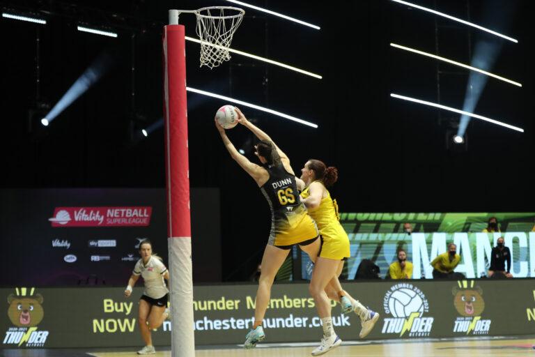 Manchester Thunder v Wasps 48