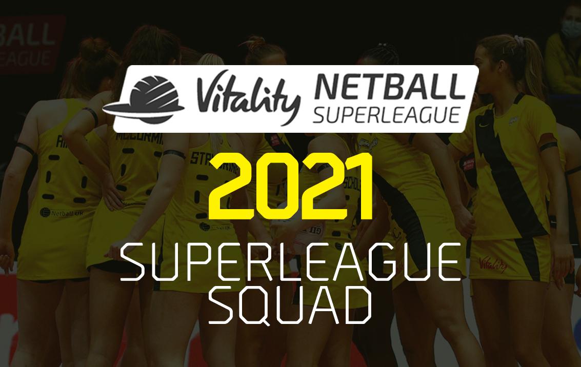 Manchester Thunder Squad 2021
