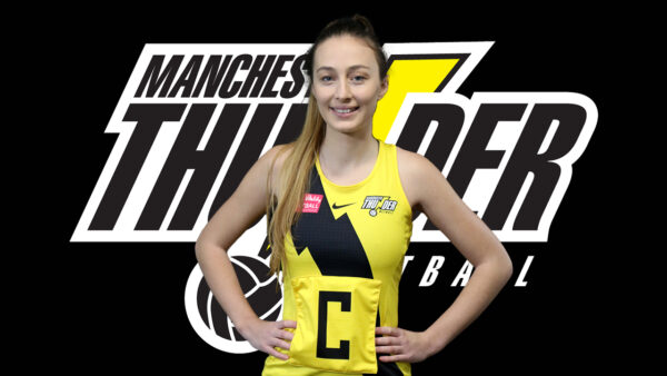 Manchester Thunder mid-courter, Amy Carter will miss the 2022 VNSL season after rupturing her ACL