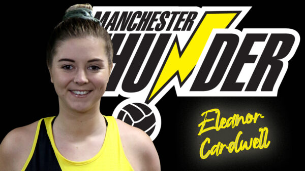 Hot shot shooter Eleanor Cardwell re-signs for Manchester Thunder for the next two seasons
