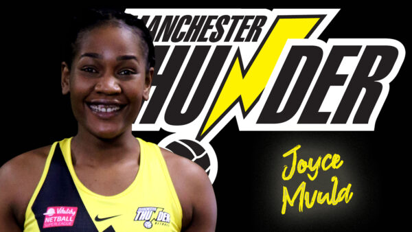 Malawi Queen Joyce Mvula re-signs for Manchester Thunder for the 2022 season