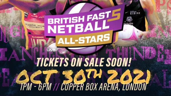 British Fast5 Netball All-Stars Championship Returns This October