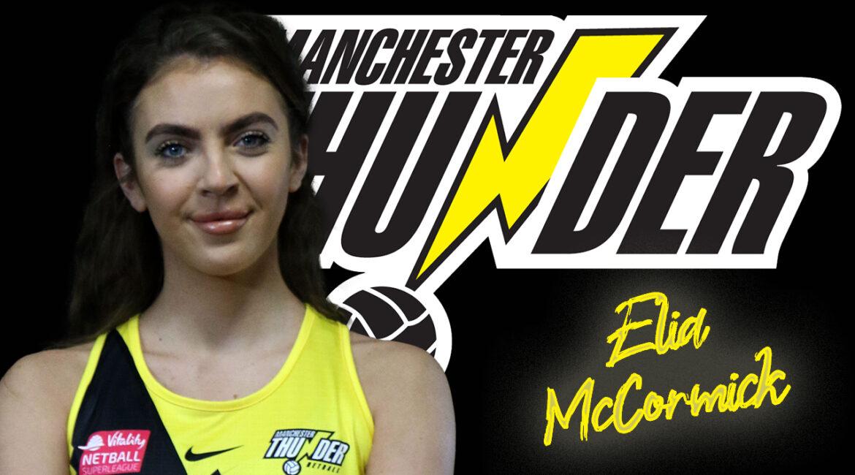 Elia McCormick Manchester Thunder