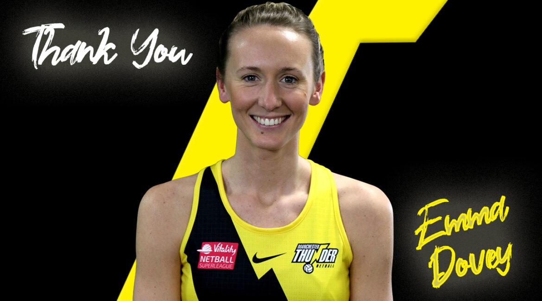 Emma Dovey retires from Manchester Thunder