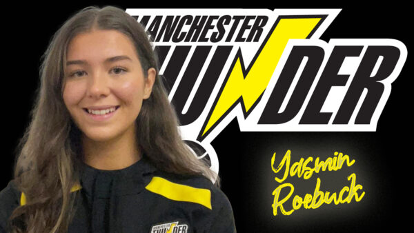 Manchester Thunder confirm pathway youngster Yasmin Roebuck as their final first team squad member for the 2022 season