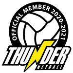 manchester thunder 2020 membership badge adult